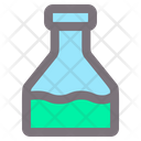 Flask Hospital Diagnostic Icon