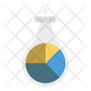 Flask Chart Graph Icon
