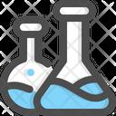 Chemistry Lab Flask Icon