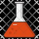 Flask Beaker Medical Icon
