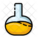 Flask Chemistry Formula Icon