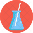 Flask Laboratory Research Icon