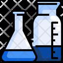 Flask Test Tube Icon