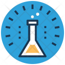 Flask Conical Laboratory Icon
