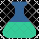 Flask Chemistry Fluid Icon