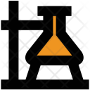 Flask Laboratory Stand Icon