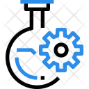 Flask Experiment Research Icon