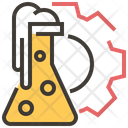 Flask Experiment Lab Icon