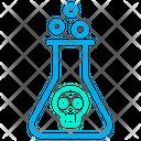 Poison Liquid Skull Icon