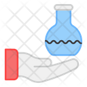 Flask Care Chemistry Care Chemical Apparatus Icon