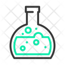 Flask Flat Bottom Icon