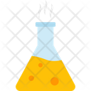 Flask Of Lab Bio Lab Chemical Icon