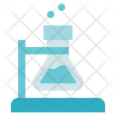 Chemistry Flask Set Laboratory Icon