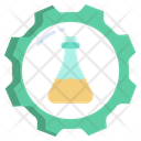 Flask Settings Chemical Research Scientific Research Icon
