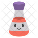 Flask Smiley Icon