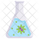 Flask Virus Icon