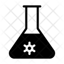 Flask Virus Icon