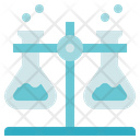 Biology Flasks Laboratory Icon