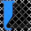 Analysis Flasks Lab Icon