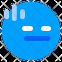 Flat Emoticon Emoji Icon