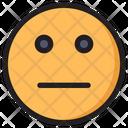 Flat Emoji Expression Icon