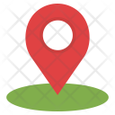 Navigation Point Location Icon