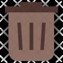 Bin Dustbin Icon