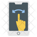 Interactive Touch Screen User Interface Icon
