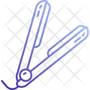 Flat Iron Hair Iron Hair Styling Icon