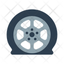 Accident Car Deflated Icon