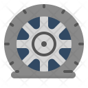 Flat Tire Pressure Icon