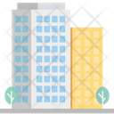 Hotel Building Apartments Icon