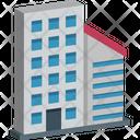 Flats Office Block Housing Society Icon