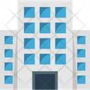 Flats Skyscraper Office Block Icon