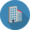 Flats Office Block Housing Society Icon