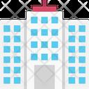 Flats Skyscraper Office Block Icon