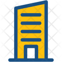 Flats Skyscraper Office Icon