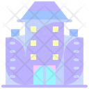 Flats Apartment Residential Icon