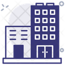 Flats Apartments Building Icon