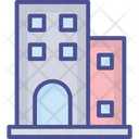 Flats Real Estate Apartments Icon