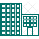 Residential Flats Hotel Icon