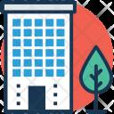 Flats Building Apartment Icon