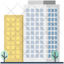 Hotel Building Apartments Icon