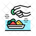 Flavoring Meal Color Icon