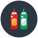Flavour Sauces Tomato Sauce Ketchup Icon