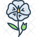 Flax Flower Linseed Wildflower Icon