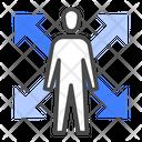 Flexibility Work Adapt Icon