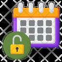 Flexible Schedule Schedule Calendar Icon
