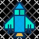 Sapce Game Spaceship Rocket Icon