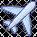 Flight Local Airport Airplane Icon